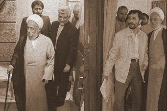 جلیلی و احمدی نژاد